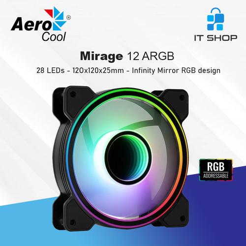 Foto Produk AeroCool Mirage 12 ARGB dari IT-SHOP-ONLINE