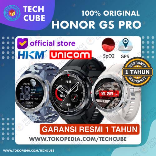 Foto Produk HONOR Watch GS PRO Smartwatch GPS Bluetooth Call Sport AMOLED RESMI - Camo Blue dari Tech Cube