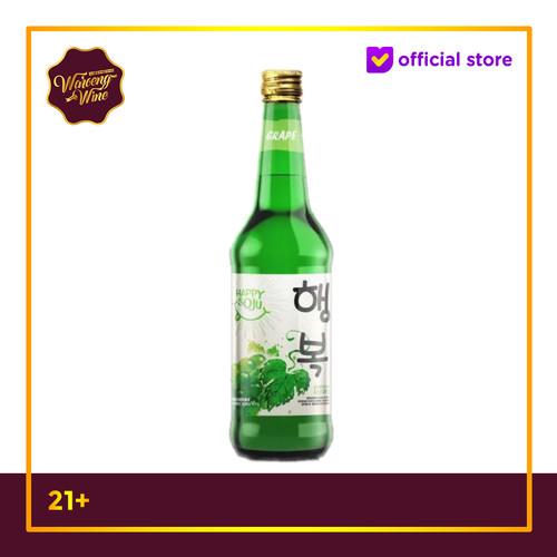 Foto Produk Soju Happy Grape 360ml dari Waroeng Wine GS