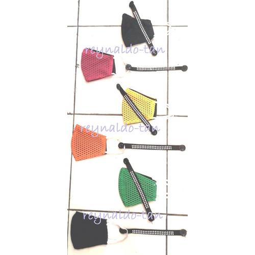 Foto Produk 12 Pcs Masker Monyong Jaring Warna + Konektor Satu Set dari reynaldo-tan