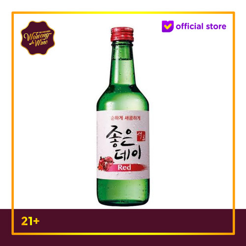 Foto Produk Soju Korea Good Day Pomegranate (Red) dari Waroeng Wine GS