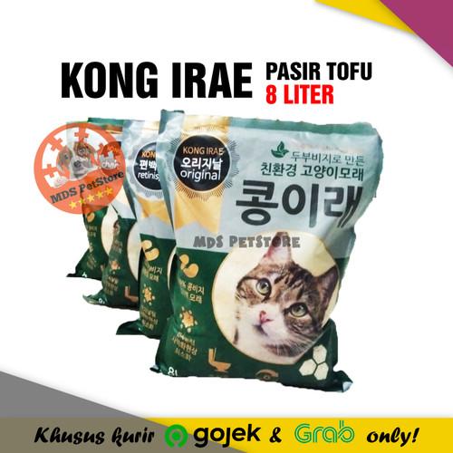 Foto Produk Kong Irae Tofu Clump 8 Liter | pasir kucing kongirae kitcat 8liter l - Charcoal dari MDS PetStore