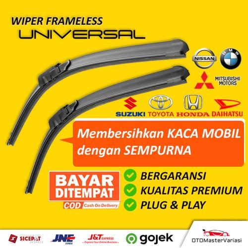 Foto Produk Wiper Framless Mobil 1 Set Depan Kiri & Kanan (2 Pcs) dari OTOMasterGlaze