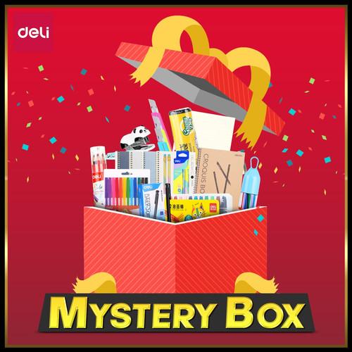 Foto Produk Deli Mystery Box Special Edition - PAKET 1 dari Deli Stationery
