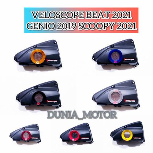 Foto Produk VELOSCOPE NEW BEAT 2020 SCOOPE 2021 GENIO 2019-2020 BEAT STREET 2020 - merah ferrari dari DUNIA_MOTOR_VARIASI