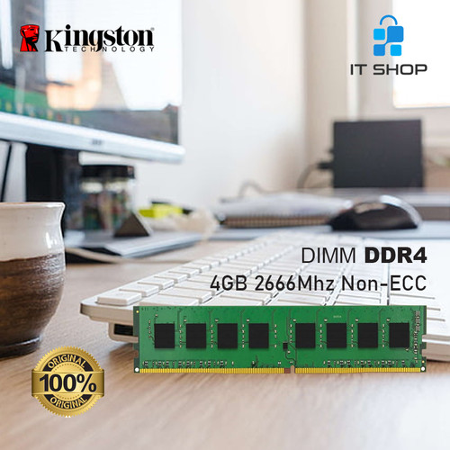 Foto Produk Kingston Memory Module LONG DIMM 4GB DDR4 dari IT-SHOP-ONLINE