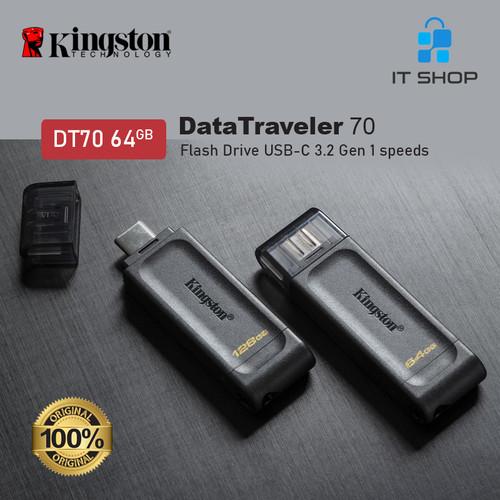Foto Produk Kingston DT70 USB-C Flash Drive 64GB dari IT-SHOP-ONLINE