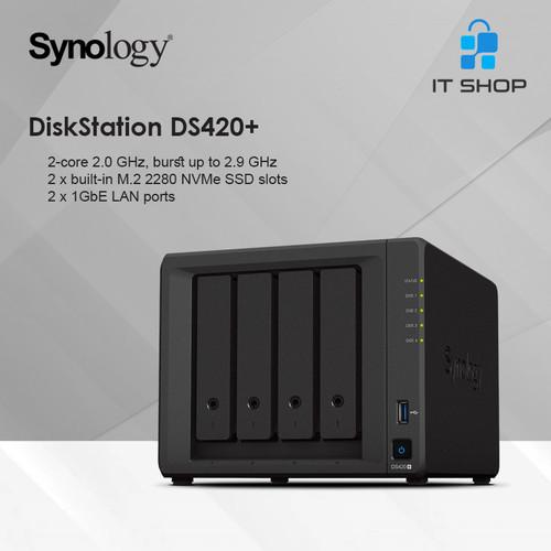 Foto Produk Synology NAS DS420+ dari IT-SHOP-ONLINE
