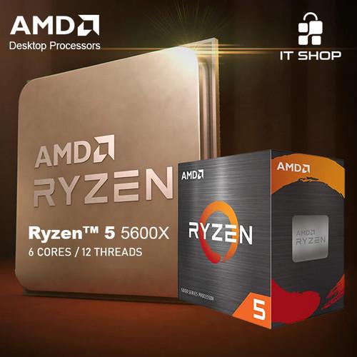 Foto Produk Processor AMD AM4 Ryzen 5 5600X Box Wraith Cooler dari IT-SHOP-ONLINE
