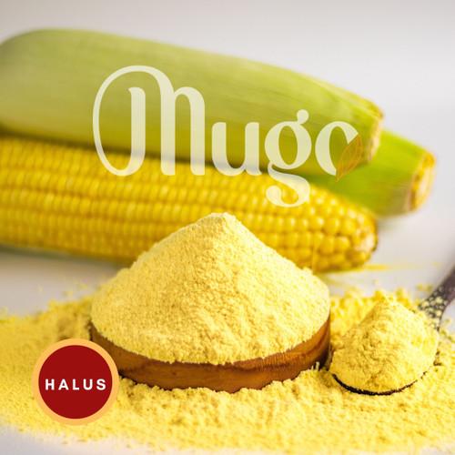 Foto Produk Tepung Jagung (polenta) Fits Mandiri 1kg kemasan ekonomis Non GMO - HALUS MUGO dari Mugo Official