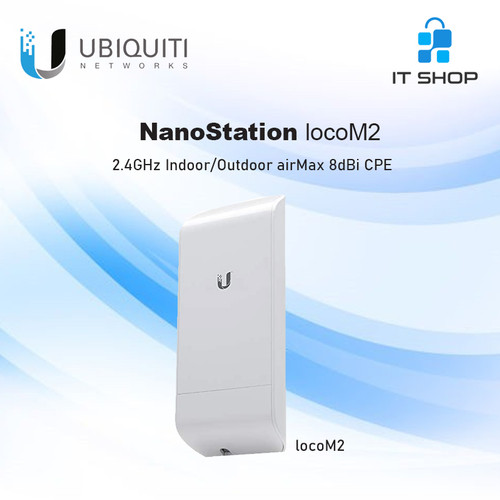 Foto Produk UBIQUITI NanoStation Antenna LOCO M2 dari IT-SHOP-ONLINE