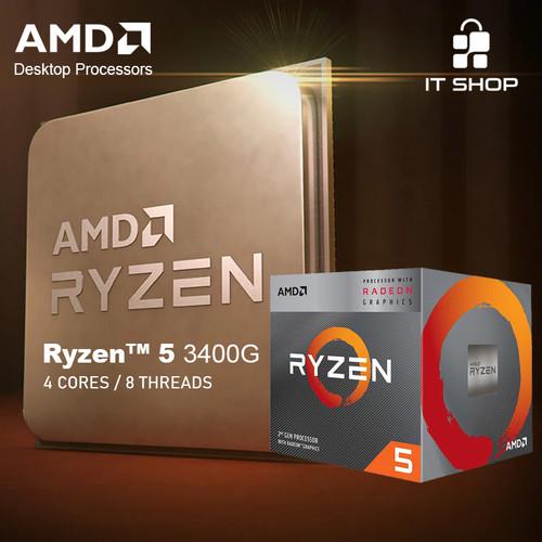 Foto Produk Processor AMD AM4 Ryzen 5 3400G Box Wraith Cooler dari IT-SHOP-ONLINE