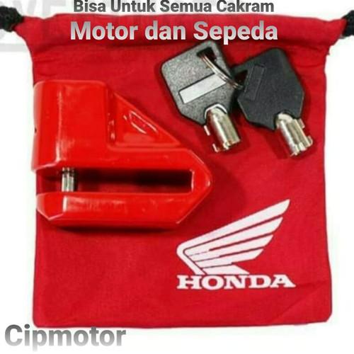 Foto Produk Gembok Honda Cakram original AHM dari cip motor
