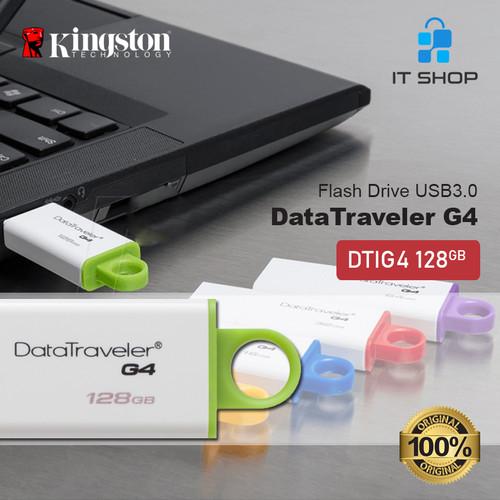 Foto Produk KINGSTON USB DISK 3.0 DTIG4 128GB dari IT-SHOP-ONLINE