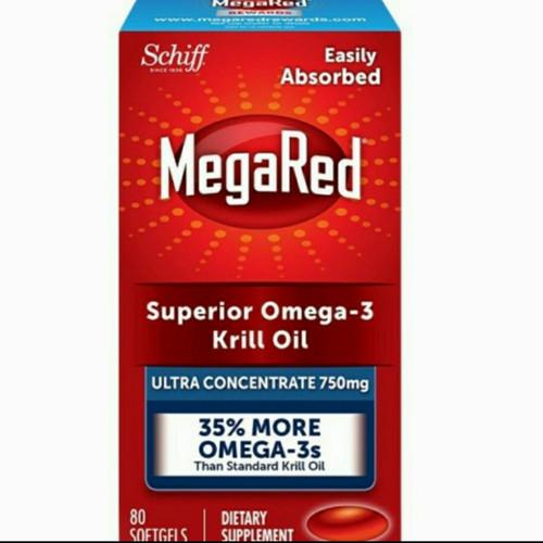 Foto Produk Schiff Omega 3 Superior Krill Oil MegaRed Ultra Concentrate 750mg dari Dylan's Kitchen