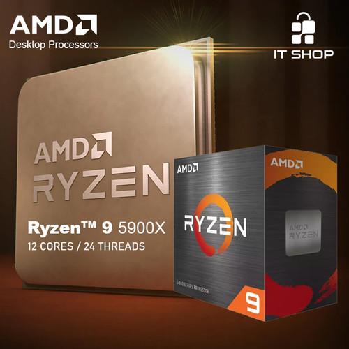 Foto Produk Processor AMD AM4 Ryzen 9 5900X Box dari IT-SHOP-ONLINE