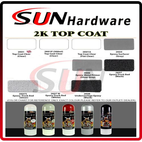 Foto Produk Pilox Samurai 400 ml Pilok Clear Coat Epoxy Anti Karat 2K dari Sun Hardware