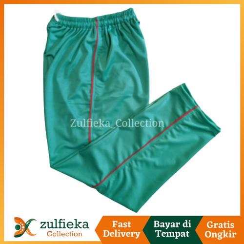 Foto Produk Celana Training Olahraga Sport Pria Wanita Jumbo Bahan Lotto - Hijau dari zulfieka_collection