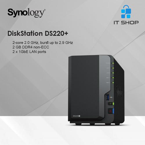 Foto Produk Synology NAS DS220+ dari IT-SHOP-ONLINE