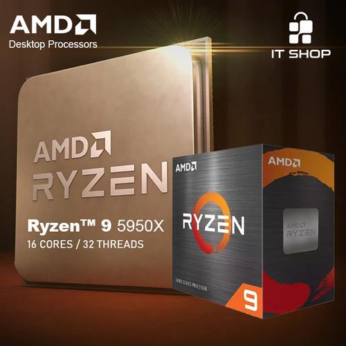 Foto Produk Processor AMD AM4 Ryzen 9 5950X Box dari IT-SHOP-ONLINE