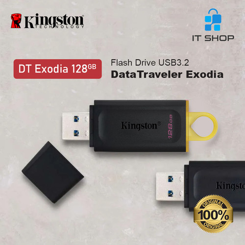 Foto Produk Kingston DT EXODIA 128GB USB Flash Disk dari IT-SHOP-ONLINE