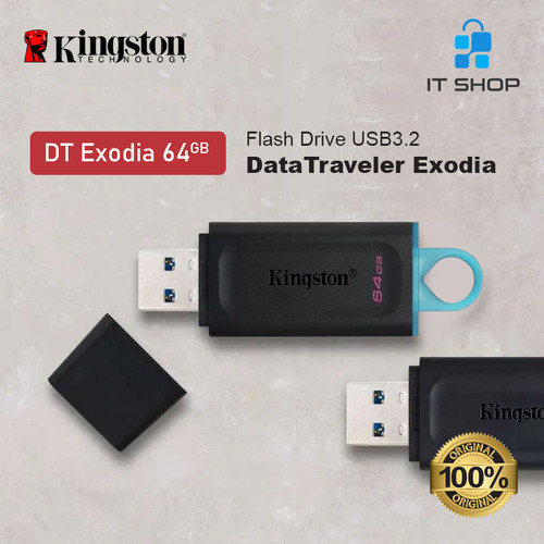 Foto Produk Kingston DT EXODIA 64GB USB Flash Disk dari IT-SHOP-ONLINE