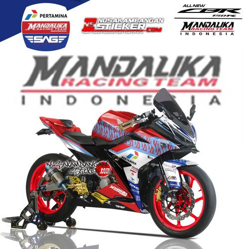 Foto Produk Stiker Ninja Mono Mandalika 02 dari Nusakambangan Sticker01