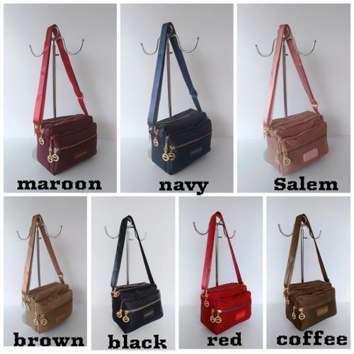 Foto Produk LC0516 tas selempang wanita import LC 4 slet dari V2 BAGS