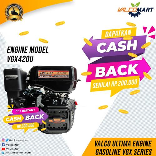Foto Produk VALCO ULTIMA Mesin Penggerak Bensin VGX 420U 16HP. Gasoline engine dari Valco