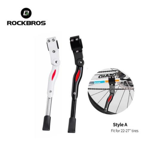 Foto Produk Standar Sepeda Rockbros MTB Sepeda Lipat Alumunium Alloy Adjustable - Hitam dari Rockbros Bike