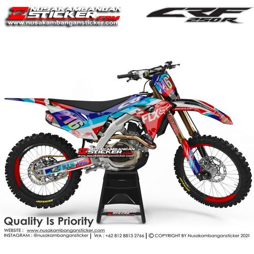 Foto Produk Stiker CRF 216 Biru Merah dari Nusakambangan Sticker01