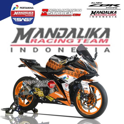 Foto Produk Stiker Ninja Mono Mandalika 04 dari Nusakambangan Sticker01