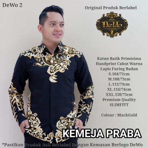 Foto Produk kemeja slimfit praba batik premium dari Jivan Batik