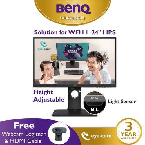 Foto Produk Monitor 24inch BenQ GW2480T IPS Full HD Height Adjustable LED Eye Care dari BenQ Official Store