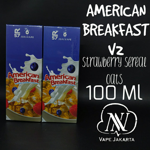 Foto Produk American Breakfast V2 100 ml - Tiga MG dari NNVape