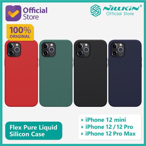 """Foto Produk Case iPhone 12 / 12 Pro (6.1"""") Nillkin Flex Pure Liquid Silicone - Red dari Nillkin Official"""