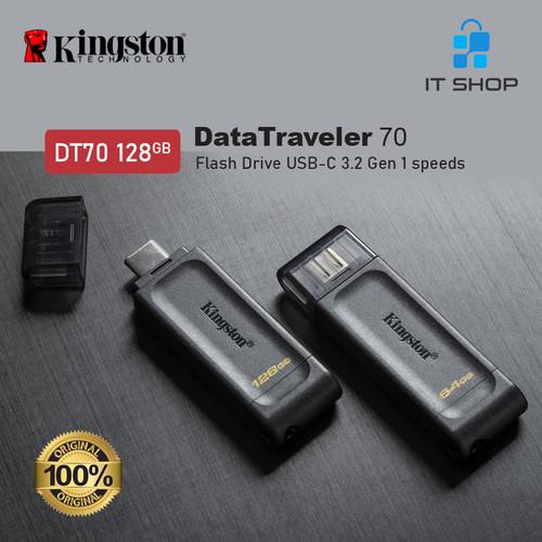 Foto Produk Kingston DT70 USB-C Flash Drive 128GB dari IT-SHOP-ONLINE