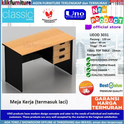 Foto Produk UEOD 3031 UNO Meja Kerja Meja Kantor Meja Tulis dari klikfurniture