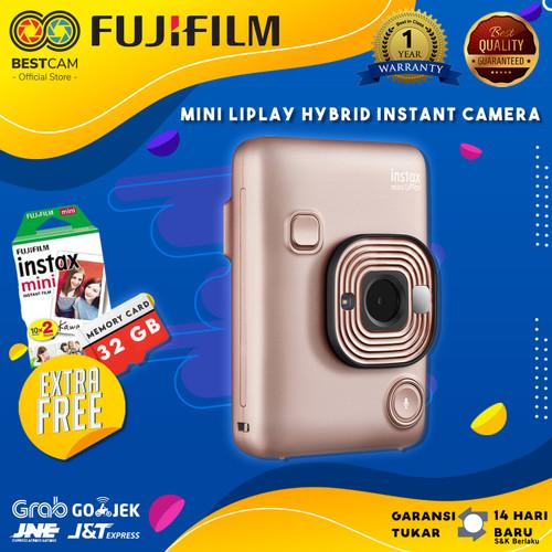 Foto Produk FUJIFILM INSTAX Mini LiPlay Hybrid Instant Camera - Blush Gold dari BestCam