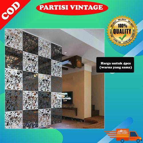 Foto Produk Alat Penyekat Ruangan Sekat Ruangan Minimalis Pembatas rumah DOA032B - Hitam dari 212 On Shop