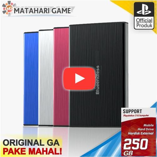 Foto Produk Hardisk PS3 250GB - hdd ps3 External Support PS3 Full Game Terbaru dari MatahariGame