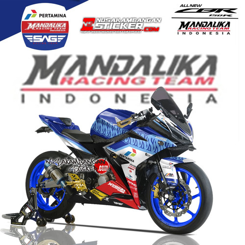 Foto Produk Stiker Ninja Mono Mandalika 01 dari Nusakambangan Sticker01