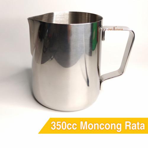 Foto Produk Cangkir Teko Susu 350ml - Milk Jug Latte Art 350 ml Stainless Tebal dari The Jatistore