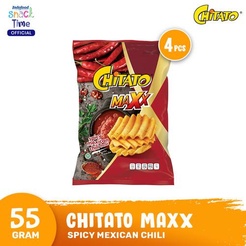 Foto Produk Chitato Maxx Spicy Mexican Chili 55 Gr - 4 Pcs dari Indofood Snack Time