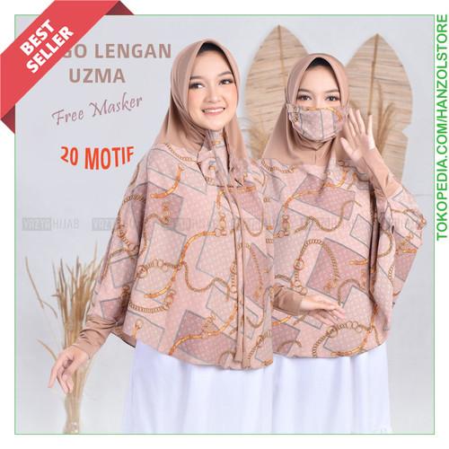 Foto Produk Jilbab Lengan Hijab Tangan Kerudung Lengan Panjang Masker - Chai Mocca dari Hanz Olstore