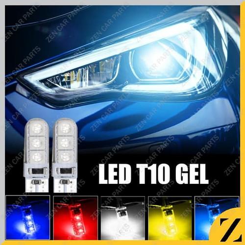 Foto Produk Lampu LED T10 GEL JELLY Sein Senja Mundur Lampu plat Tahan Panas - Merah dari Zen Car Parts
