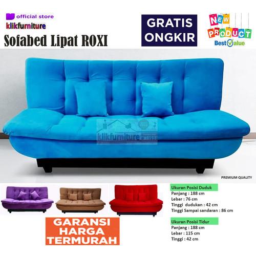 Foto Produk Sofa Bed Reclyning Minimalis Roxi dari klikfurniture