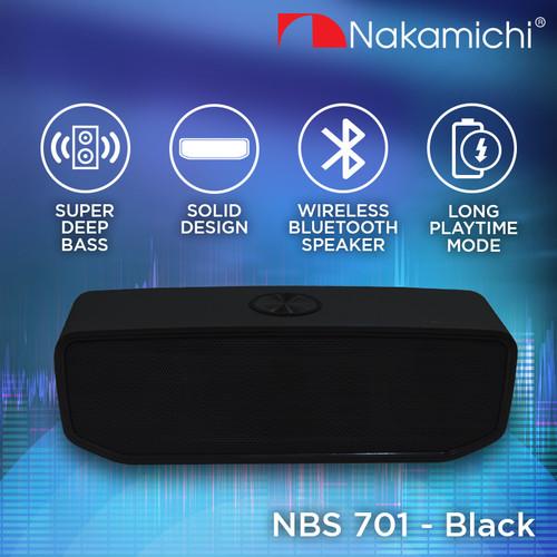 Foto Produk Nakamichi NBS 701 Speaker Bluetooth Portable - Black dari Nakamichi Indonesia