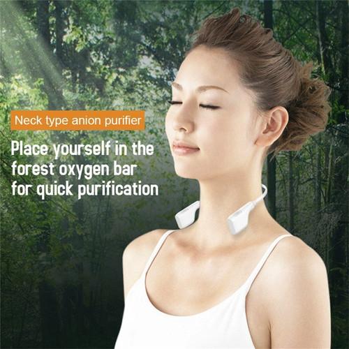 Foto Produk Air Purifier Model Gantung Leher Perlindungan Ekstra Dari Virus - Putih dari GNE Product