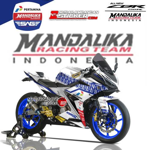 Foto Produk Stiker Ninja Mono Mandalika 03 dari Nusakambangan Sticker01